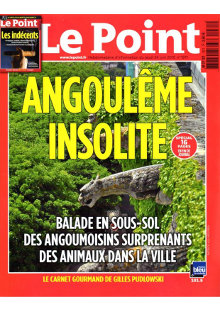 Article Le POINT – Angoulême insolite image